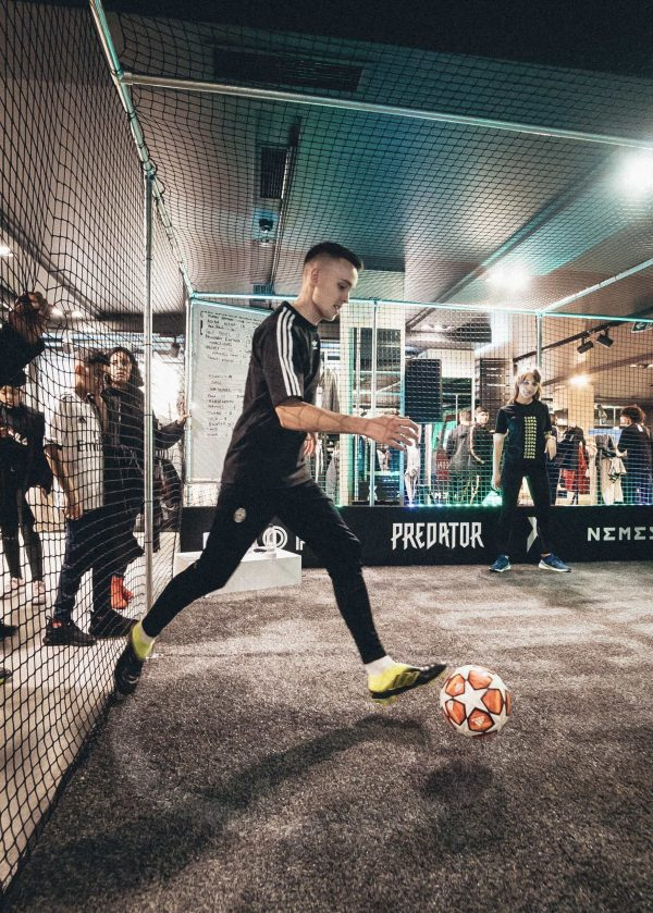 Instore event activation for COPA 19 adidas by IMA