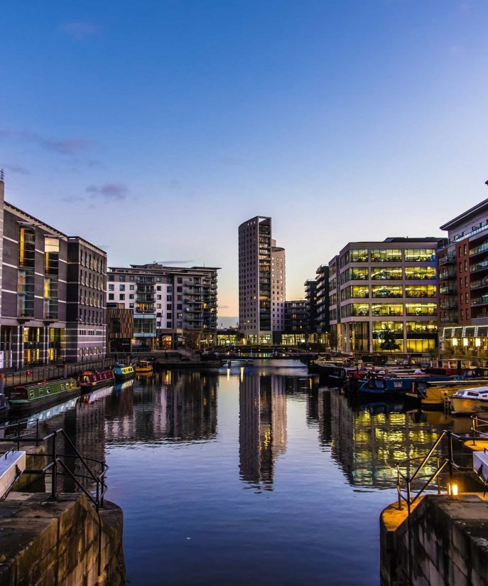 Leeds.                                      The UK's new creative hub